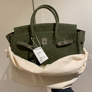 Humble Reproduction Daily Bag size 35 Army Green